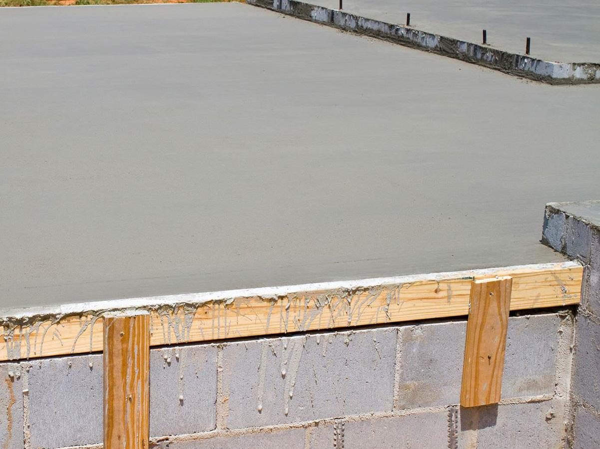freshly poured concrete sealing treatment gold coast
